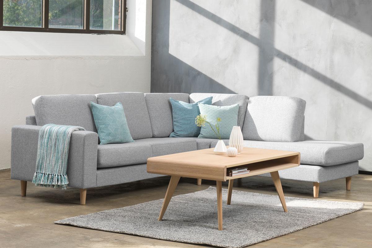 Drayton Small Open Corner Group Sofa - Romerils