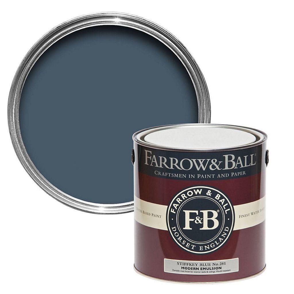 Farrow & Ball   Stiffkey Blue No. 20   Romerils