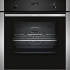 Neff N50 Slide&Hide™ B4ACF1AN0B Built In Electric Single Oven - Stainless Steel