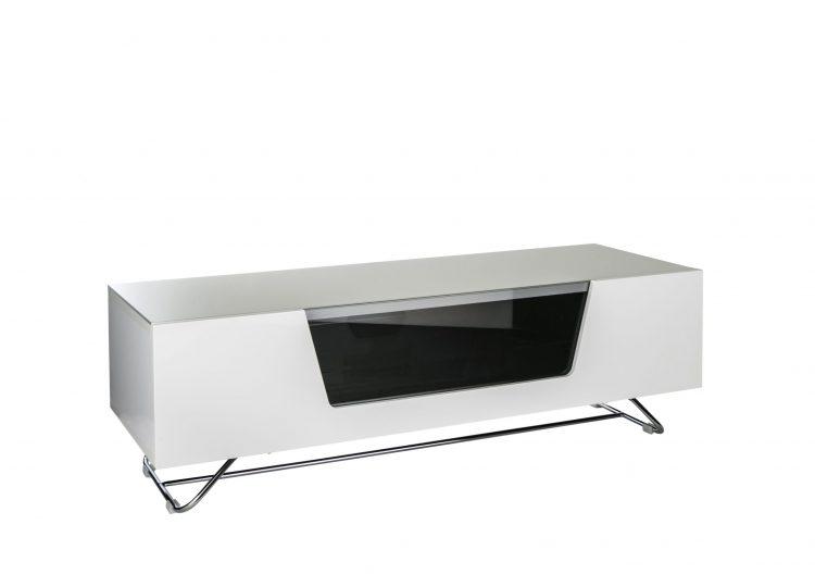 1. Chromium 1200 TV Stand White